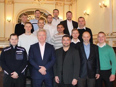 Účastníci turnaje Unitop ČR v ledním hokeji 2017 se sešli v Liberci