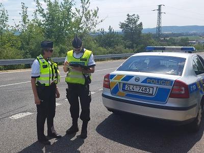 Policisté se opět zaměřili na bezpečnost silničního provozu