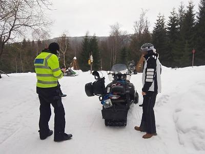 Policie dohlíží na bezpečnost v horských oblastech