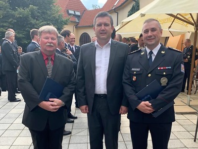 Ministr vnitra ocenil policistu a zaměstnance z Libereckého kraje