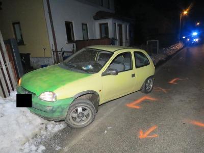 Řidič na Smržovce ujížděl policistům, měl zákaz řízení a drogy v těle