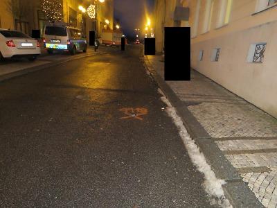 Policie hledá svědky menší nehody v centru Jablonce