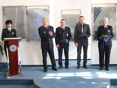 Policisté převzali na jablonecké radnici ocenění
