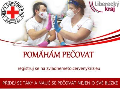 Český červený kříž Jablonec hledá pečovatele v záloze