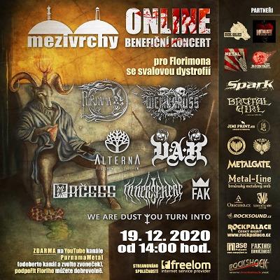 Benefiční koncert Metal Online podpoří Florimona!