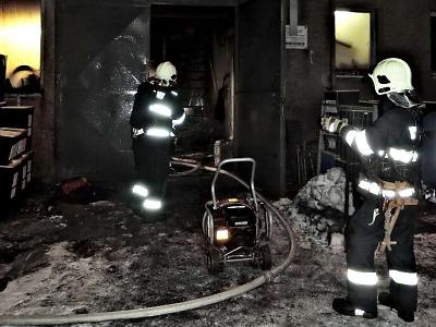 Ve spalovně v Rýnovicích vznikl nežádoucí požár