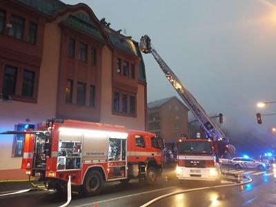 Hořel dům v jabloneckých Vrkoslavicích, obyvatele evakuovali