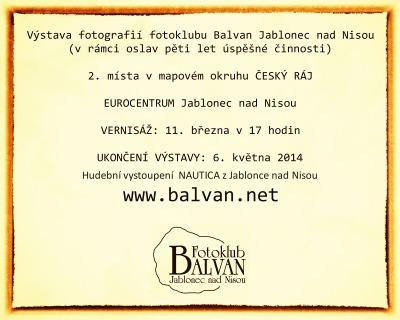Fotoklub Balvan slaví pět let činnosti výstavou v Eurocentru