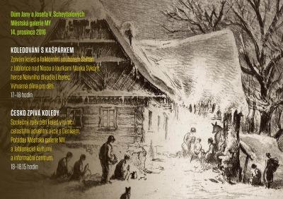 V Domě Scheybalových v Jablonci se budou zpívat koledy