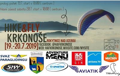 Hike & Fly Krkonoše se pokusí napodobit přelet nad Alpami