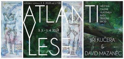 Atlanti v lese vyrostou v brodské Městské galerii Vlastimila Rady