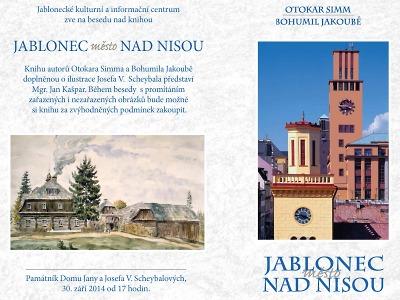 Autoři při besedě osobně představí knihu Jablonec město nad Nisou