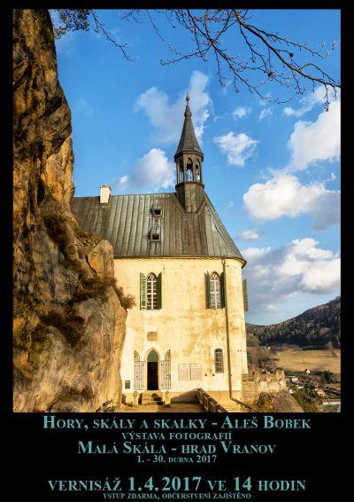Hrad Vranov přivítá výstavu Hory, skály a skalky