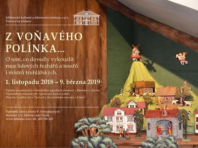 Výstava s vůní Vánoc a dřeva potěší nejen děti v Domě Scheybalových