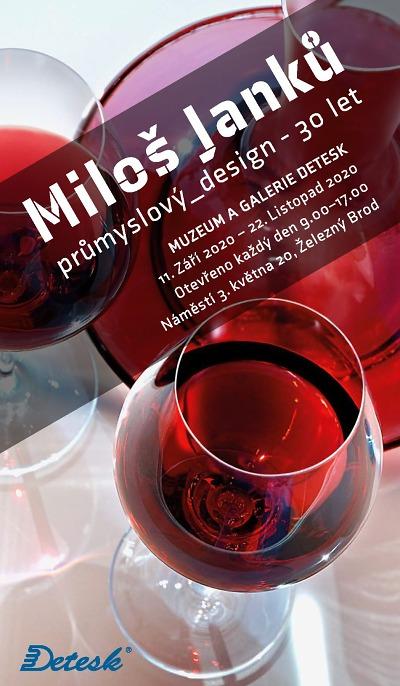 Průmyslový design Miloše Janků za 30 let ukáží v galerii Detesk