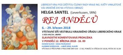 Rej andělů Helgy Santel zavítá na krajský úřad