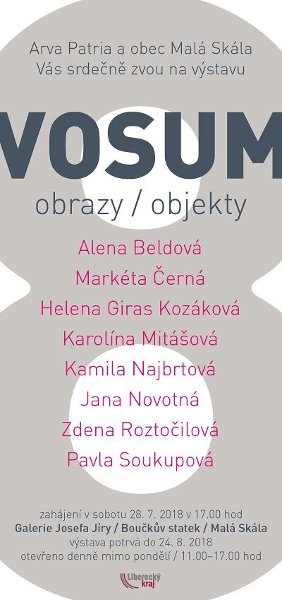 V Maloskalské galerii zahájí výstavu Vosum