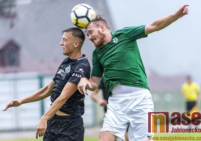 Obrazem: Přípravné utkání FK Velké Hamry - FK Jablonec B