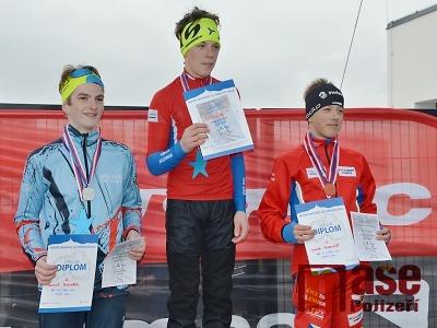 Mladí běžci závodili ve Vrchlabí na čtvrtém pohárovém závodě