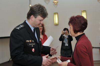 Obrazem: Slavnostní předání stříbrných a bronzových medailí