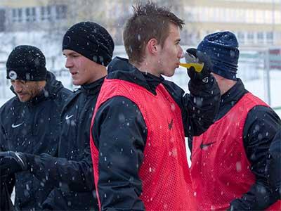 Fotbalový Jablonec zahájil zimní přípravu