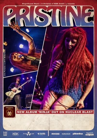 Rocková energická jízda s Pristine