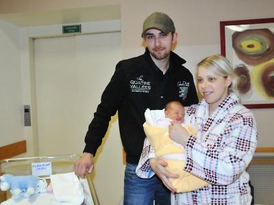 Prvním miminkem Libereckého kraje v roce 2014 je holčička Isabel