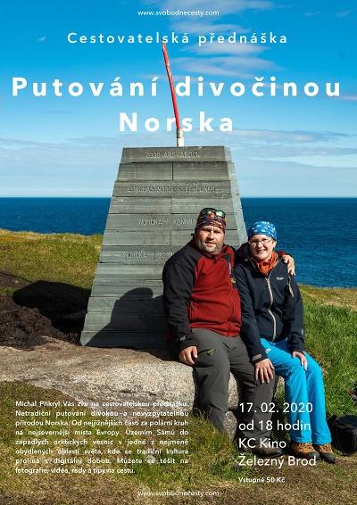 Cestovatelská přednáška zve na Putování divočinou Norska