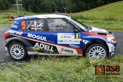Kopecký s Dreslerem doma na Rally Bohemia přemožitele nenašli