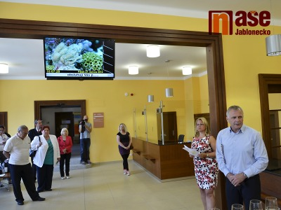 Obrazem: Na jablonecké radnici otevřeli rekonstruovaný parter
