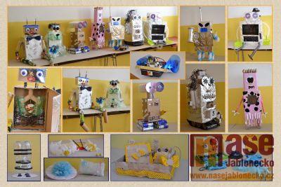 Roboti v tanvaldském gymnáziu