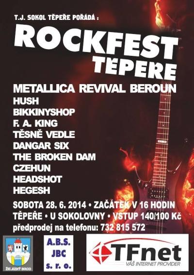 Rockfest Těpeře je opět tady