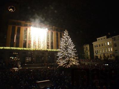 Jablonecké náměstí v první adventní neděli rozzáří vánoční strom