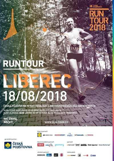 Závod pro rodiny s dětmi RunTour po roce zavítá do Liberce - Naše ... a82bf12941