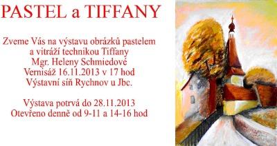 Pastel a Tiffany Heleny Schmiedové