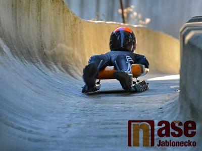 Obrazem: Mezinárodní MČR v jízdě na kolečkových saních