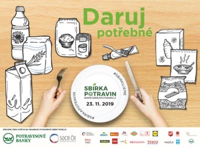 Sbírka potravin pro potřebné proběhne i v Jablonci