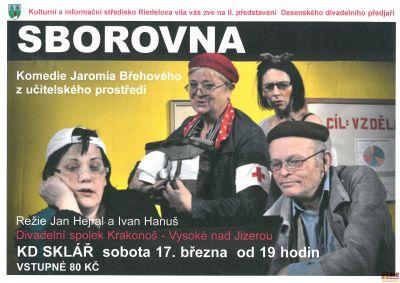II. představení Desenského divadelního předjaří Sborovna