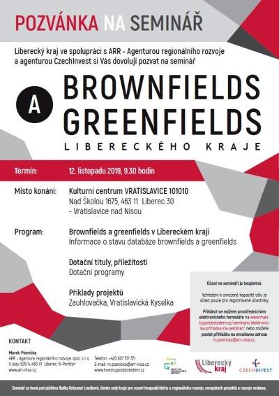Seminář v Desítkách přiblíží možnosti využití brownfields a greenfields
