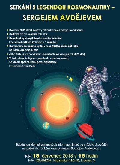 Liberec se spojí s Mezinárodní vesmírnou stanicí