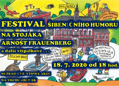 Festivalem šibeničního humoru ubije diváky v Brodě Arnošt Frauenberg