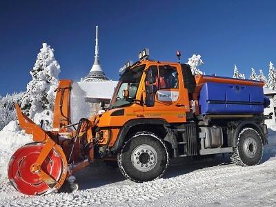 Na silnicích v Libereckém kraji se objevil první sníh letošní zimy