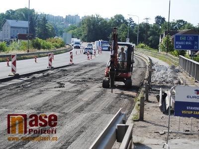 Řidiče na silnici I/35 v úseku Liberec - Hodkovice čekají uzavírky