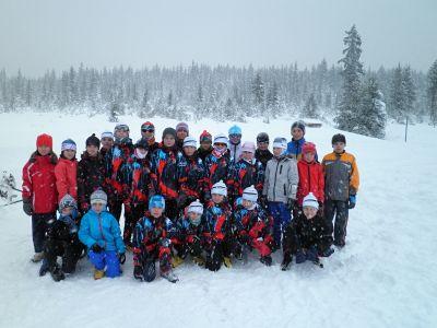 Zapadané naděje jabloneckého Ski klubu na soustředění