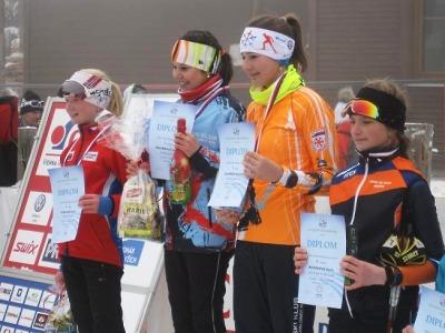 Masaříková získala na Božím Daru další dva tituly, zlaté i družstvo Jablonce