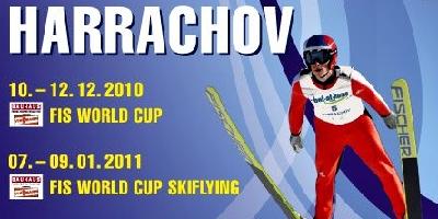 Světoví skokané se přesunuli do Harrachova
