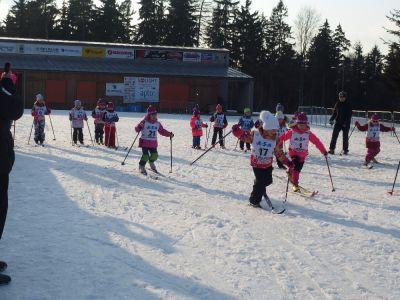 Přípravka SKI klubu se loučila se sněhem závody