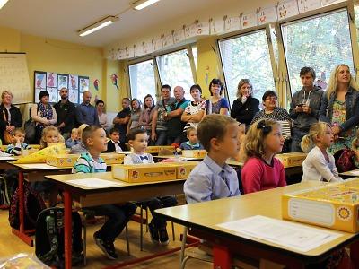 Školní rok už začal i na jablonecké ZŠ Šumava