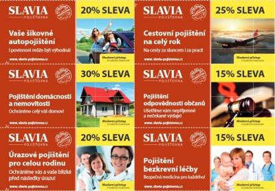 Navštivte pobočku Slavia pojišťovny v Jablonci a získejte speciální slevy