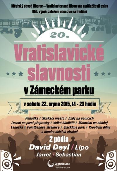Vratislavické slavnosti připomenou 655 let od vzniku obce
